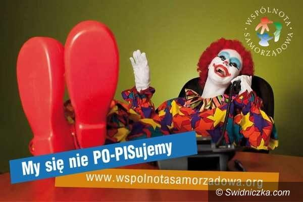 Świdnica: Przedwyborczy cyrk z klownami w roli głównej