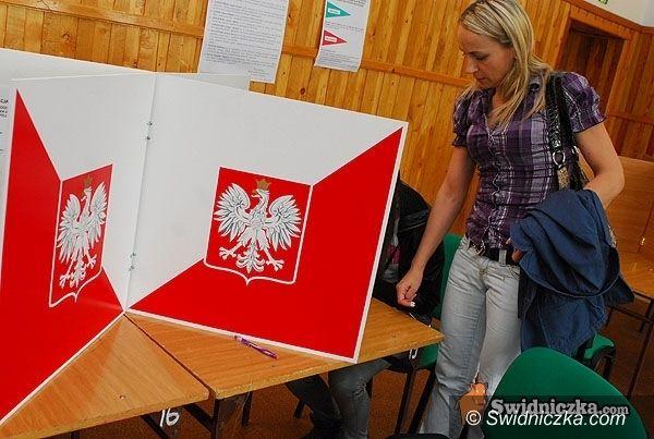 powiat świdnicki: Głosujemy już dziś – od godz. 8.00 lokale wyborcze zapraszają