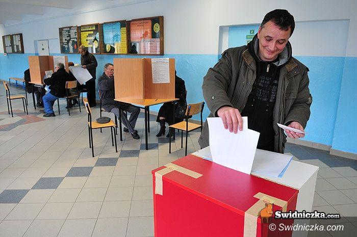 Świdnica/region: Jedna czwarta wyborców spełniła swój obowiązek