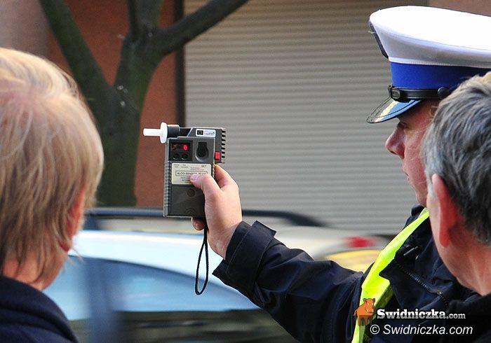 Strzegom/Jaroszów: Wypadek na trasie Strzegom–Jaroszów, kierowca pijany