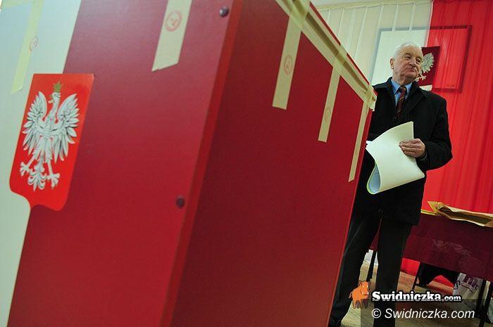 Świdnica: Czterej kandydaci na prezydenta zagłosowali w Świdnicy…