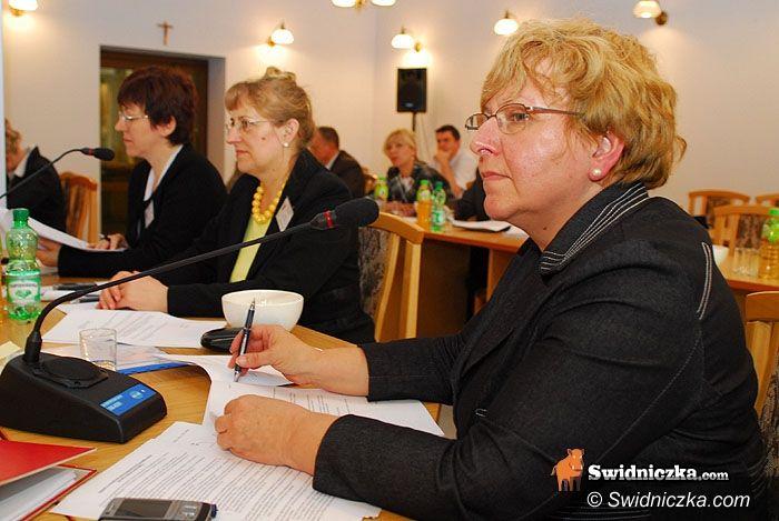 gmina Świdnica: Teresa Mazurek oficjalnie wójtem