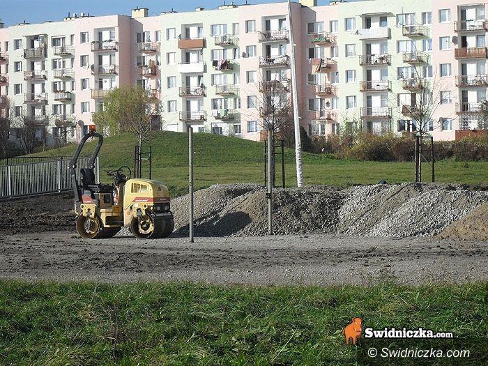 Świdnica: Powstaje parking przy Wyszyńskiego