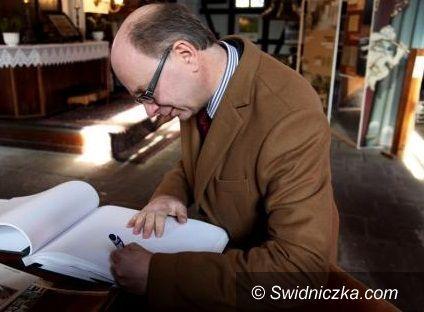 Świdnica: Kościół Pokoju gościł ambasadora Szwecji
