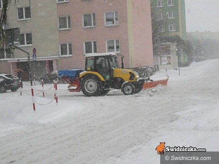powiat świdnicki: Zima trzyma