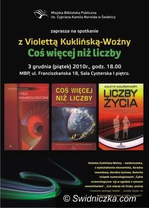 Świdnica: Poznaj swój numerek – Violetta Kuklińska–Woźny opowie o magicznych liczbach