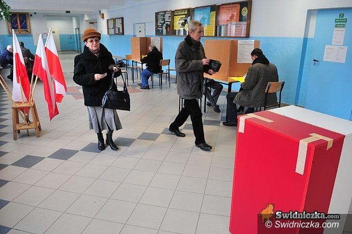 Świdnica/gmina Strzegom: Jutro wybory w Świdnicy i w Strzegomiu