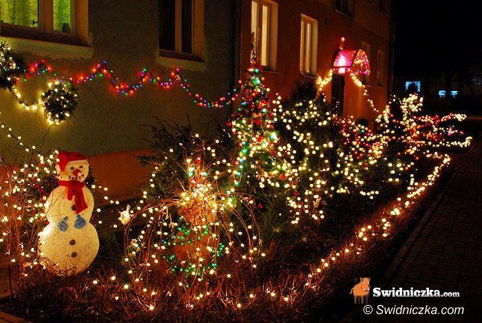 Świdnica: Światełka w ruch – czas stroić domy