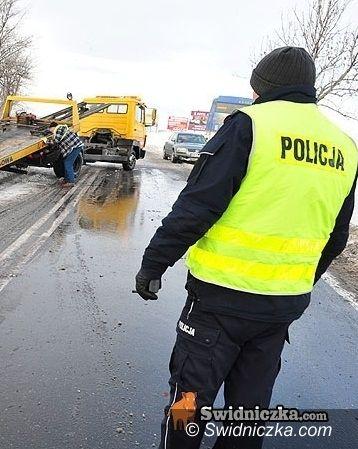 powiat wrocławski: Dziesięć aut uszkodzonych na trasie na Wrocław [aktualizacja z godz. 11.18]