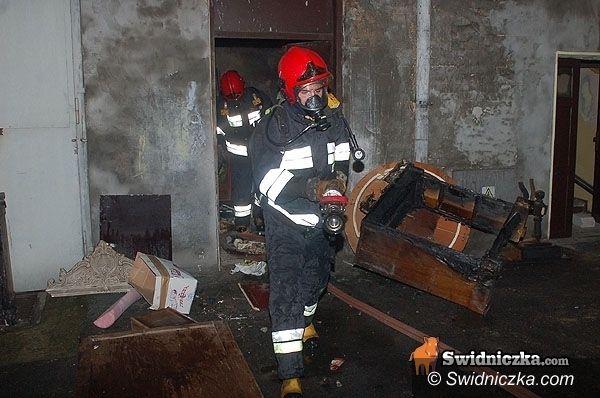 Świdnica: Pożar na pl. Drzymały