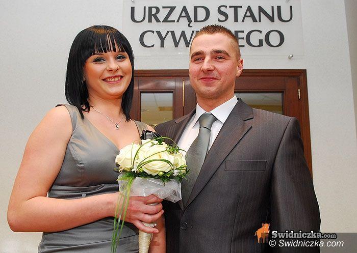 Świdnica: Sylwestrowy ślub