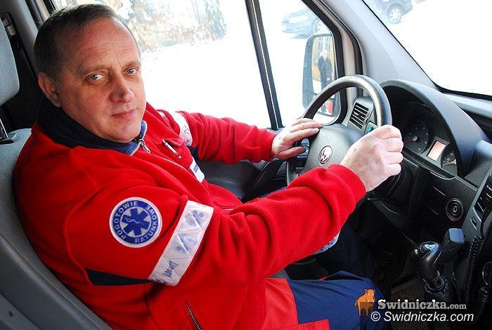 powiat świdnicki: Dzień z życia: Andrzej, kierowca–ratownik z pogotowia