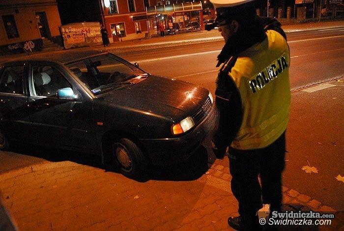 powiat świdnicki: Policjanci nasłuchali się bluzgów