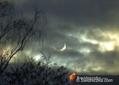 Świdnica: Zaćmienie za chmurami