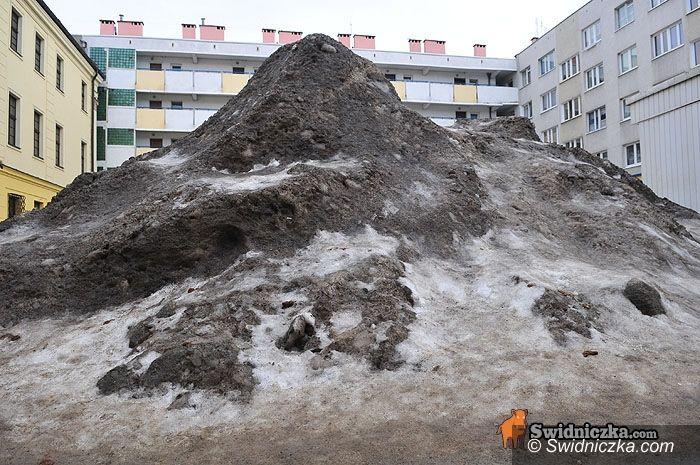 Świdnica: Góra w centrum miasta