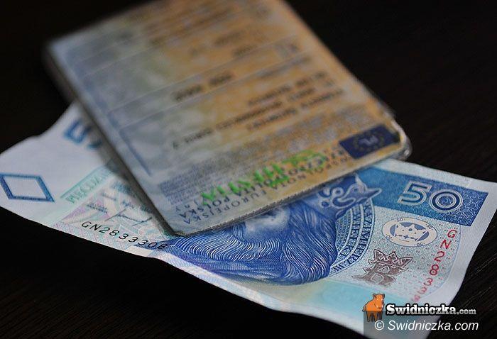 Świdnica: Chciał wręczyć 50 zł łapówki, odpowie przed sądem