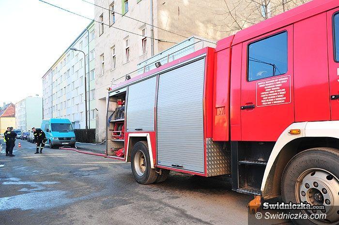 Świdnica: Śmierć w pożarze w centrum Świdnicy [aktualizacja z godz. 16.08]