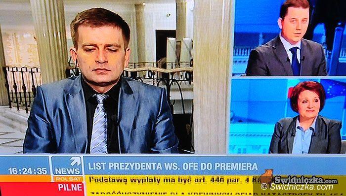 kraj: Pani poseł się pokazuje w telewizji