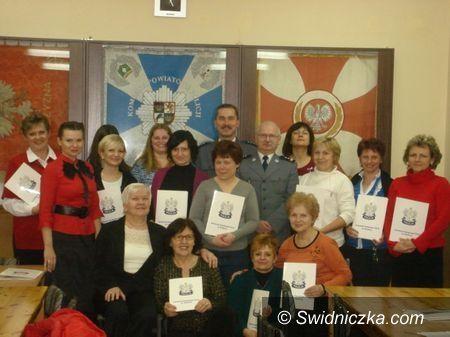 Świdnica: Bezpieczne kobiety z certyfikatami – już po raz dwunasty