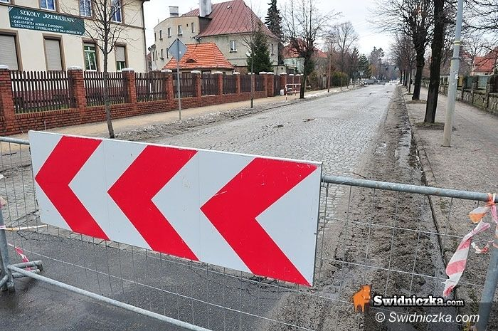 Świdnica: Wałbrzyska będzie zamknięta do 20 maja