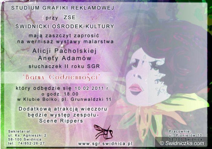 Świdnica: Barwy codzienności według Alicji Pacholskiej i Anety Adamów