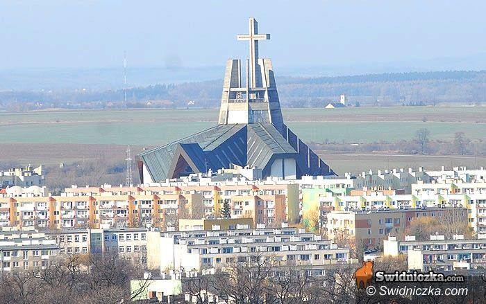 Świdnica: Miasto widziane z katedralnej wieży