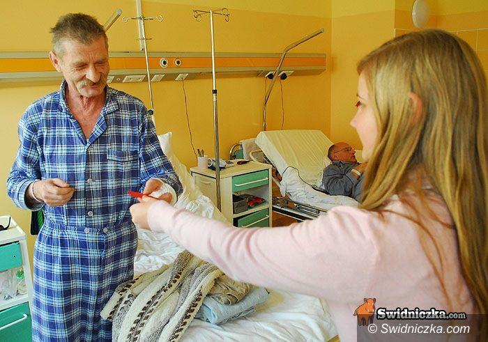 Świdnica: Wolontariuszki oddały serca pacjentom