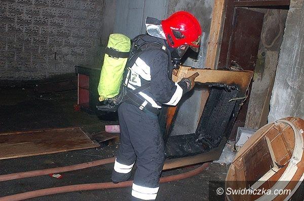 Świebodzice: Dwa pożary w Świebodzicach