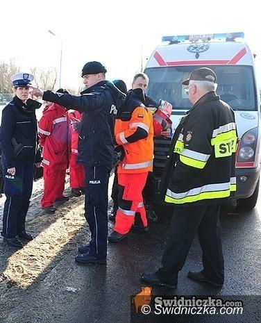 powiat świdnicki: Raport z pogotowia: wypadki w… autobusach