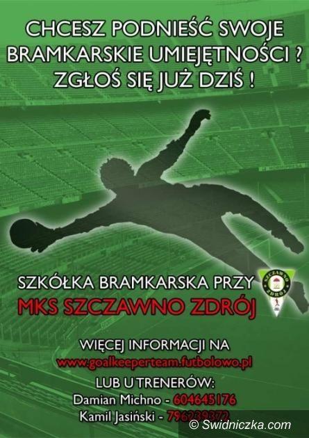 Szczawno Zdrój: Rusza piłkarska szkółka dla bramkarzy