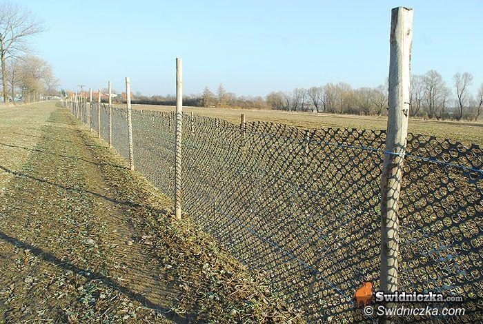 Słotwina/Mokrzeszów: Wiosenne porządki na krajowej drodze