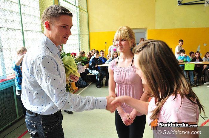Świdnica: Olimpijczyk w progach gimnazjum