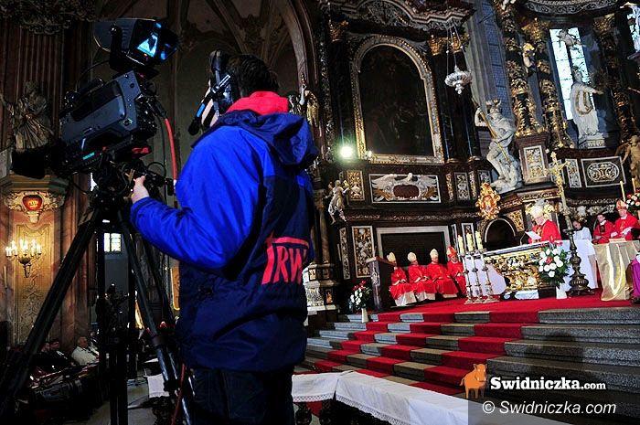 Świdnica: Promocja na cały glob – będzie transmisja mszy z katedry