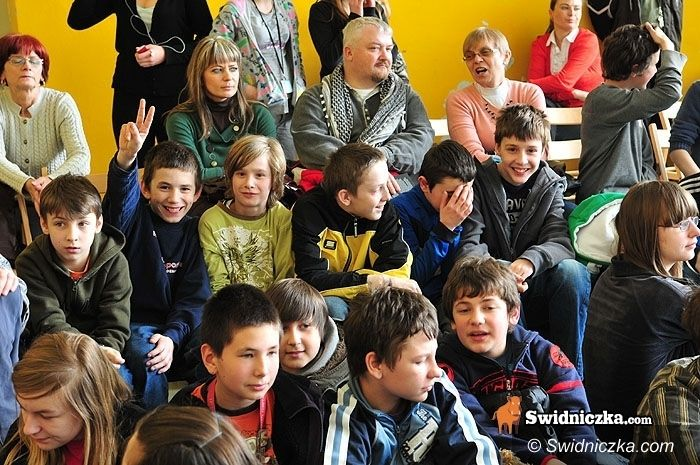 Świdnica: Olimpijka wystawiła świdnickich gimnazjalistów