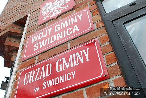 gmina Świdnica: Podpiszą umowy gościnnie w gminie Świdnica