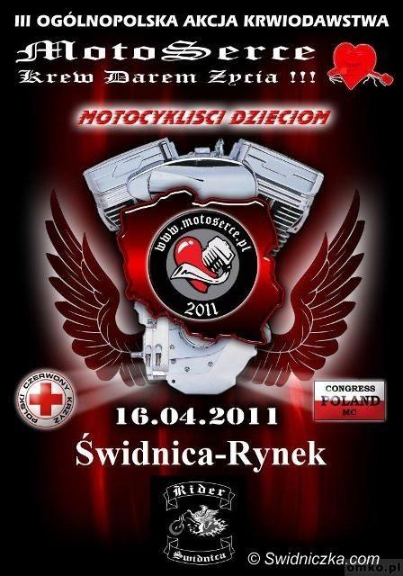 Świdnica: Motoserce 2011 – motocykliści dzieciom