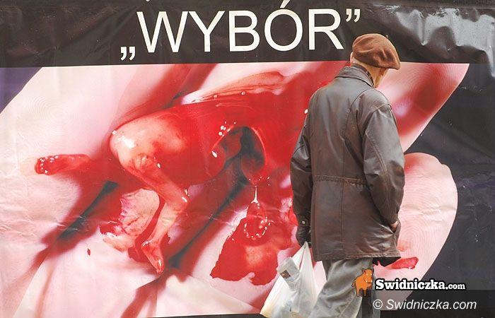 diecezja świdnicka: Przeciwnicy aborcji ruszają w teren