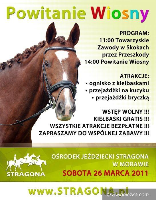 Morawa: Przywitają wiosnę na koniach