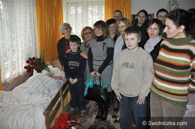 Świdnica: Jutro setne urodziny mieszkanki Mokrzeszowa