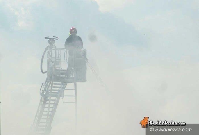 powiat świdnicki: Straż pożarna i policja podsumowali u starosty rok