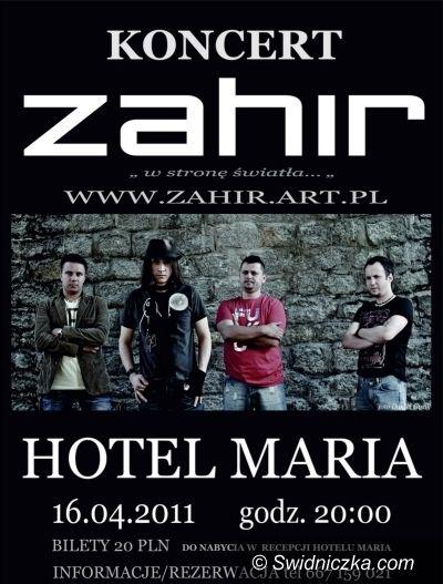 Świdnica/Wałbrzych: KONKURS: Mamy dla Was sześć podwójnych wejściówek na koncert zespołu Zahir