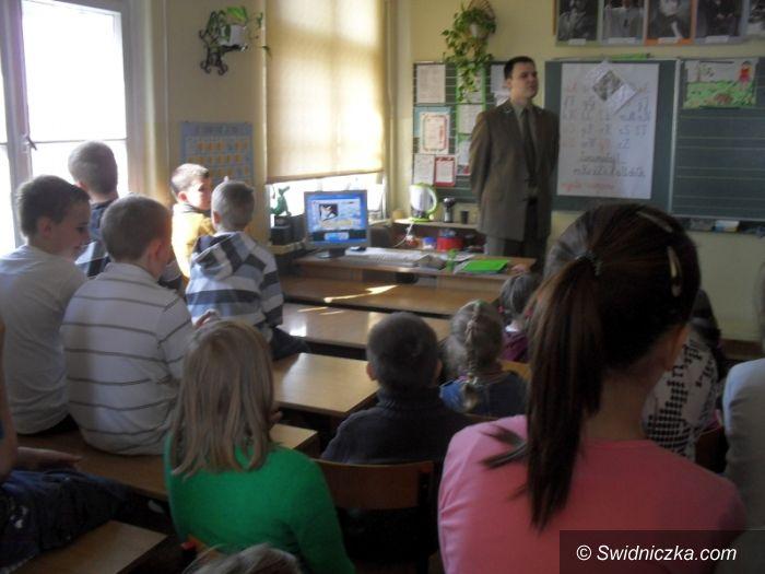 Świdnica: Dzieci dowiedziały się, co słychać w lesie