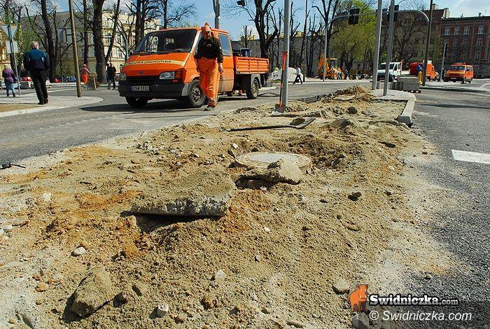 Świdnica: Spartaczyli, teraz poprawią – plac świętej Małgorzaty idzie do poprawki