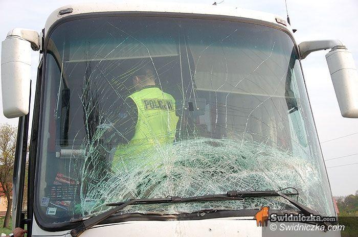 Siodłkowice: Wypadek autobusu PKS Świdnica
