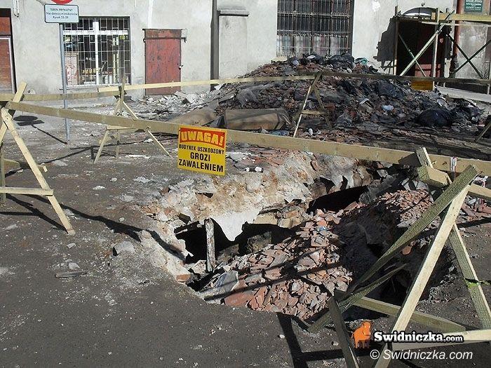 Świdnica: Pięć miesięcy później... Dziura zniknęła