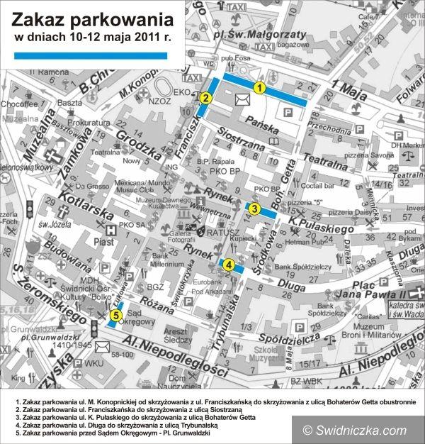 Świdnica: II Kongres Regionów w Świdnicy: Zmiany w parkowaniu 10–12 maja