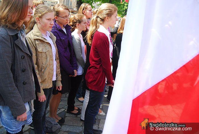 Świdnica: Ekspresowe uroczystości – świdniczanie uczcili zakończenie II wojny światowej...w 360 sekdund