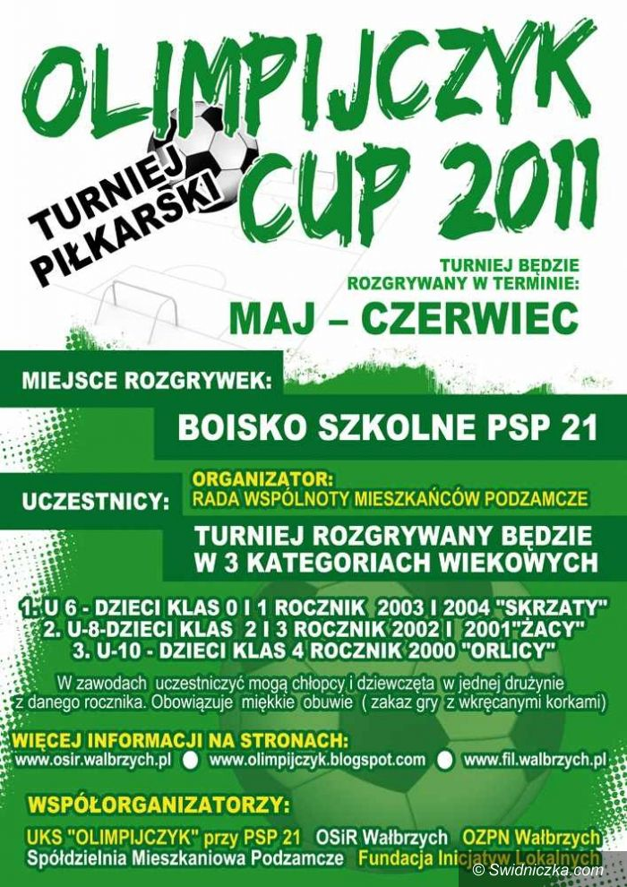 Wałbrzych: Ruszył cykl turniejów piłkarskich Olimpijczyk Cup 2011