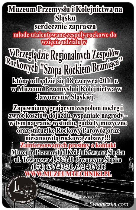 Jaworzyna Śląska: Szopa zabrzmi rockiem – organizatorzy czekają na muzyków