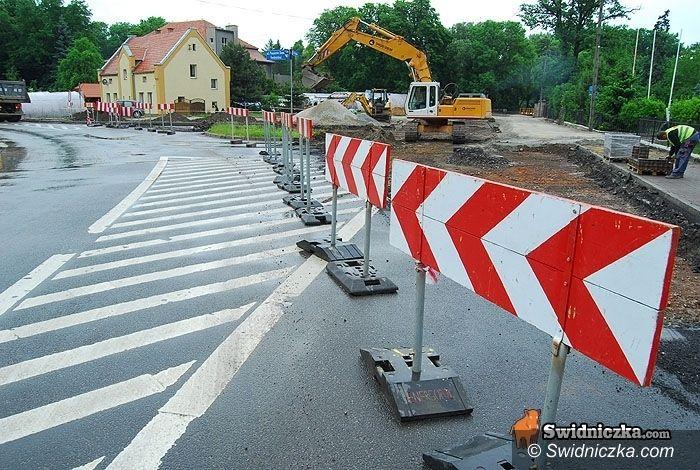 Świdnica: Rusza budowa ronda – będą zmiany w organizacji ruchu